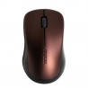 Rapoo 1620 Wireless Optical Mouse Brown
