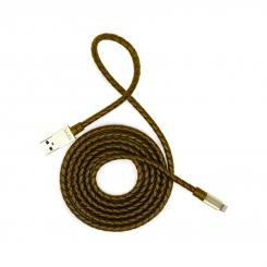 کابل تبدیل USB به لایتنینگ تسکو TC 65 قهوه ای