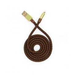 کابل تبدیل USB به USB-C تسکو TC 96 قهوه ای