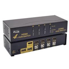 KVM سوئیچ 4 پورت HDMI برند Knet Plus