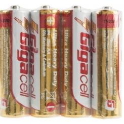 باتری قلمی گیگاسل شرینگ مدل Ultra Heavy Duty بسته 4 عددی