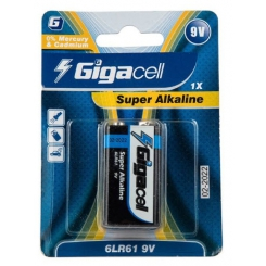 باتری کتابی گیگاسل مدل Super Alkaline بسته یک عددی