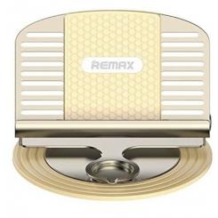 پایه نگه دارنده و شارژر گوشی موبایل ریمکس RC-FC2 LETTO طلایی