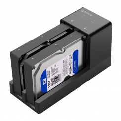 Orico 2.5 / 3.5 inch Hard Drive Enclosure with Duplicator 6528US3-C