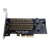 ORICO M.2 NVME to PCI-E 3.0 X4 Expansion Card - PDM2