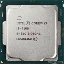 Intel Core i3-7100 CPU Tray - طلق و فن / بدون باکس