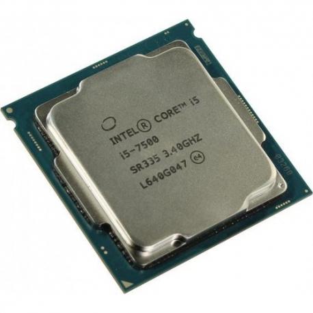 سی پی یو بدون باکس اینتل i5 7500