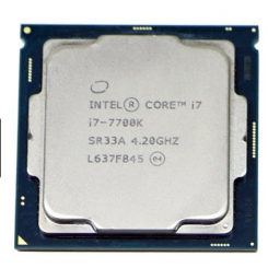 Intel Core i7-7700K CPU TRAY - طلق و فن / بدون باکس