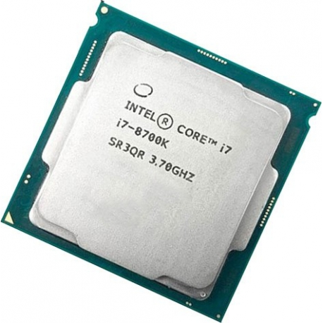 Intel Core i7-8700K CPU TRAY - طلق و فن / بدون باکس