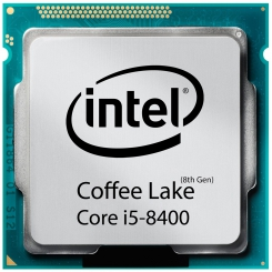 Intel Coffee Lake Core i5-8400 CPU TRAY - طلق و فن / بدون باکس