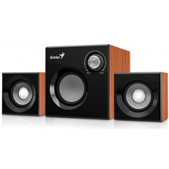 Genius SW-2.1 370 Desktop Speaker Wood