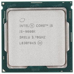 Intel Core i5-9600K CoffeeLake 9th Gen Tray -طلق و فن / بدون باکس