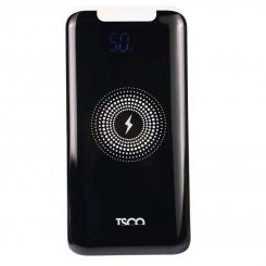 شارژر همراه (پاوربانک) بی سیم تسکو TP 851WL مشکی ظرفیت 10000میلی آمپر ساعت