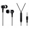Volkano Stannic series earphones - Black-VSN202-blk