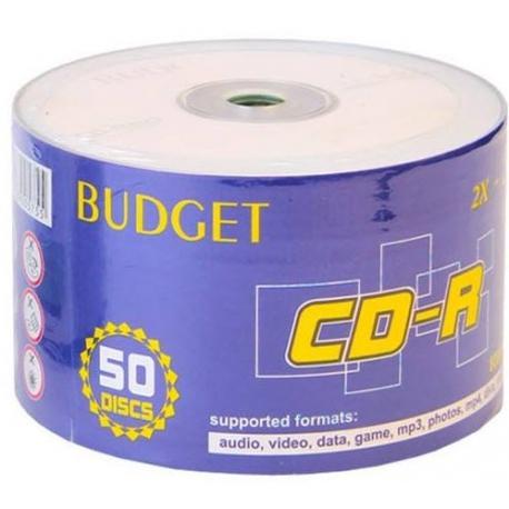 سی دی خام باجت BUDGET مدل CD-R بسته 50 عددی