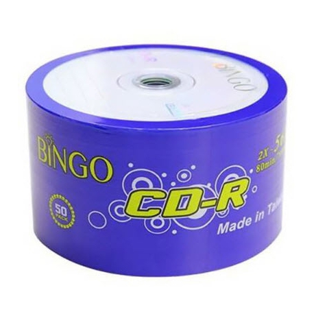 سی دی خام بینگو Bingo بسته ۵۰ عددی