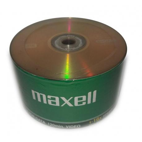 دی وی دی خام مکسل Maxell پک شرینگ 50 عدد DVD+R