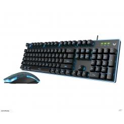 Rapoo V100S Backlit Gaming Keyboard & Mouse