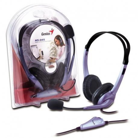 Genius HS-04S Headset دو فیش