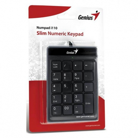 Genius i110 Slim Numeric Keypad