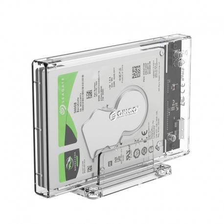 باکس SSD و هارد 2.5 اینچ شفاف با استند ORICO 2159U3