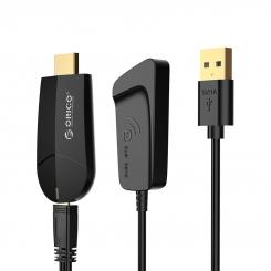آداپتور وایرلس انتقال تصویر به HDMI مدل ORICO PE-PW1