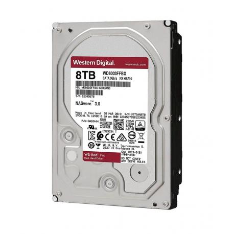 هارددیسک اینترنال وسترن دیجیتال Western Digital Red Pro ظرفیت 8 ترابایت