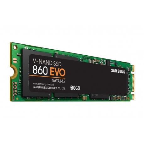 اس اس دی اینترنال سامسونگ مدل Evo 860 m.2 ظرفیت 500 گیگابایت