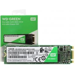 اس اس دی M.2 وسترن دیجیتال مدل WDS120G2G0B ظرفیت 120 گیگابایت