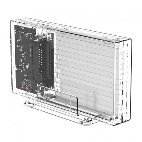 باکس هارد 2.5 اینچ 2 سینی شفاف ORICO 2259U3