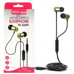 TSCO TH 5089 Wired Headphones Black