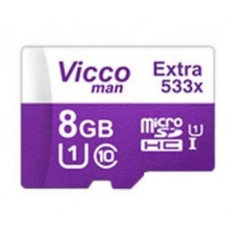 کارت حافظه microSDHC ویکو من 8 گیگابایت 80 مگابایت Vicco man Class10