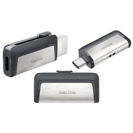 فلش مموری سن دیسک Sandisk Ultra Dual Drive USB Type-C ظرفیت 32 گیگابایت