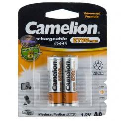باتری قلمی قابل شارژ کملیون مدل 2700 میلی آمپر بسته 2 عددی