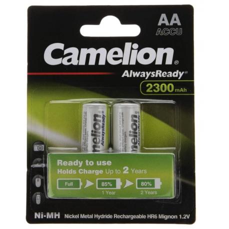 باتری قلمی قابل شارژ کملیون 2300 میلی آمپر مدل Always Ready بسته 2 عددی