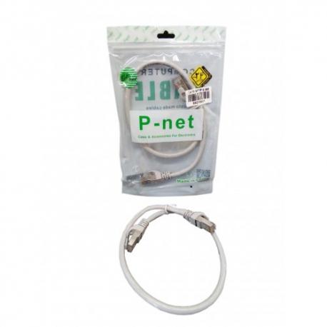 پچ کورد شبکه پی نت نیم متری P-net Cat6 UTP