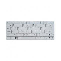 کیبورد لپ تاپ ایسوس سفید بدون فریم فلت پهن Laptop Keyboard ASUS Eee PC 1004-1005