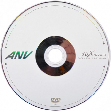 دی وی دی خام ANV پک 50 عددی شرینگ ساخت ویتنام