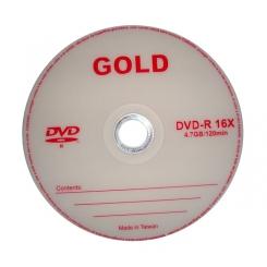 دی وی دی خام گلد بسته 50 عددی GOLD DVD-R