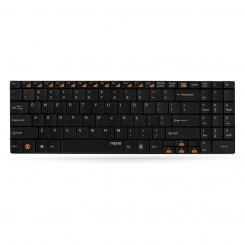 Rapoo E9070 Ultra-Slim Wireless Keyboard ( Black )