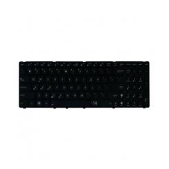 کیبورد لپ تاپ ایسوس K50-K61-K70 مشکی - بدون بک لایت - با فریم