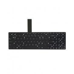 کیبورد لپ تاپ ایسوس K55V مشکی - اینتر کوچک - بدون فریم