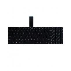 کیبورد لپ تاپ ایسوس K56-S550 مشکی - اینتر کوچک - بدون فریم