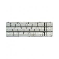 کیبورد لپ تاپ ایسوس N55 نقره ای