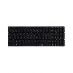 کیبورد لپ تاپ ایسوس N56 مشکی - اینتر کوچک - بدون فریم