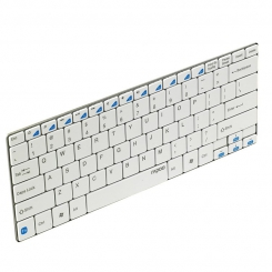 Keyboard Rapoo E6100 Wireless Bluetooth Ultra-Slim White