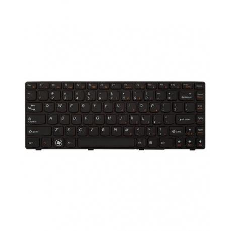 کیبورد لپ تاپ لنوو IdeaPad G470 مشکی - با فریم