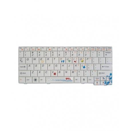 کیبورد لپ تاپ لنوو IdeaPad S10-2 سفید