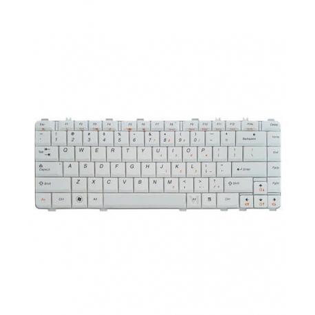 کیبورد لپ تاپ لنوو IdeaPad Y550 سفید