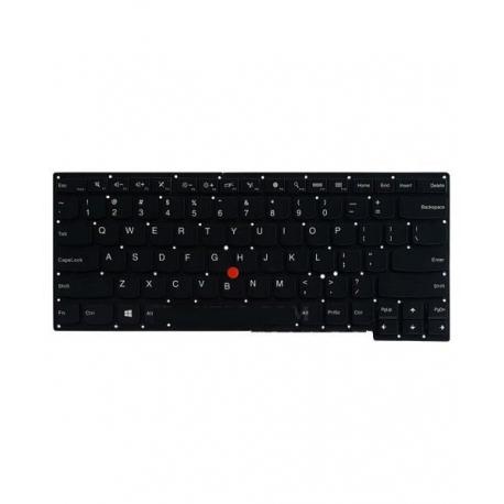 کیبورد لپ تاپ لنوو Thinkpad S440 مشکی - با ماوس - با بک لایت - بدون فریم